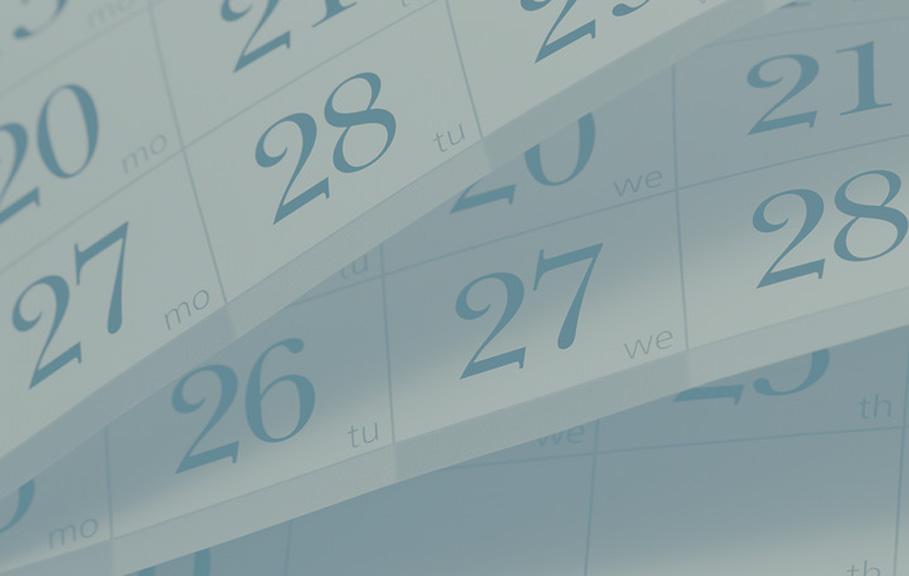 GM Medical kalender